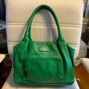 NWOT Kate Spade Green Handbag